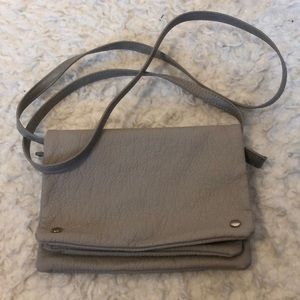 Mossimo Vegan Leather Crossbody Bag/Clutch